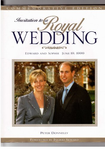 Invitation to a Royal Weddiing: Edward and Sophie, June 19, 1999