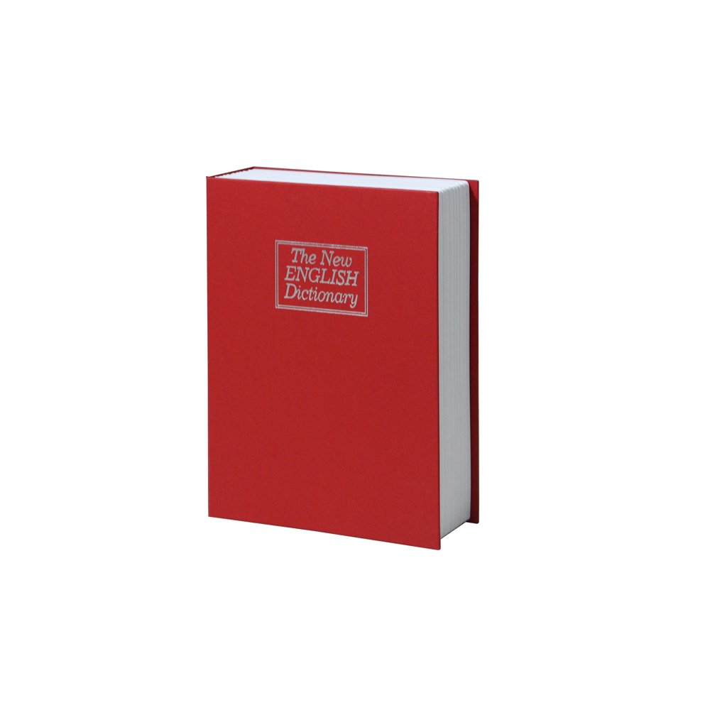 Red Book Shape Locking Safe Box (L)
