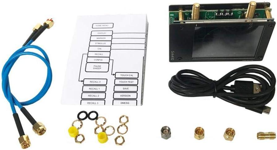 maojin Spectrum Analyz,Network Analyzer Set,3G Nanovna Vector Network Analyzer,HF VHF UHF Antenna Analyzer,50kHz-3GHz Measure Voltage Stand-Wave Ratio for NanoVNA V2