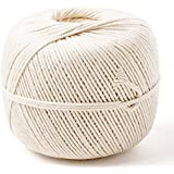 Cayman Kitchen Natural Cotton Cooking Twine 1200 ft, 1 Lb