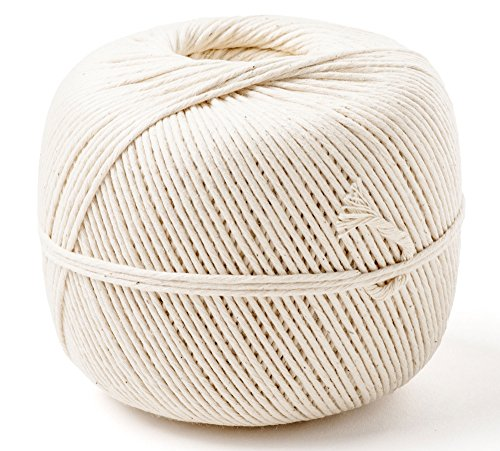 Cayman Kitchen Natural Cotton Cooking Butchers Twine 1200 ft, 1 Lb