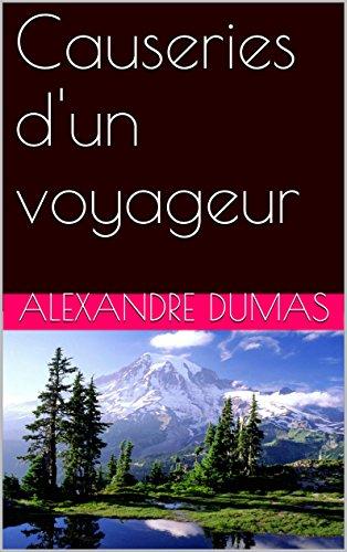 (Causeries d'un voyageur (French Edition))
