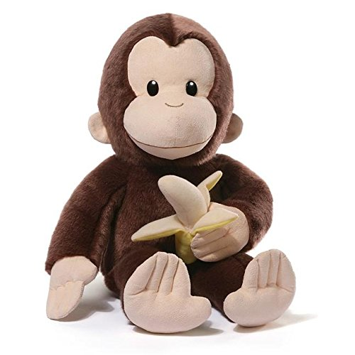 Gund Curious George with Banana 75th Anniversary Large Plush ()