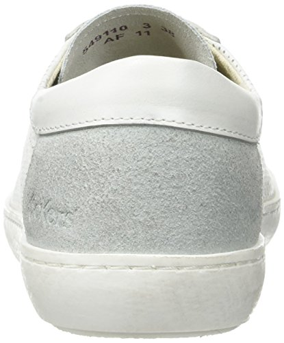 Blanc Basses blanc Femme Kickers Real Baskets OgqpwRBI