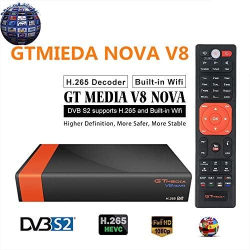 Sofobod GTMEDIA V8 Nova DVB S2 TV Satellite Receiver Satellite decodificador Support 1080P Full HD PowerVu Biss Key Newca CCCAM con Built-in Wif - ...