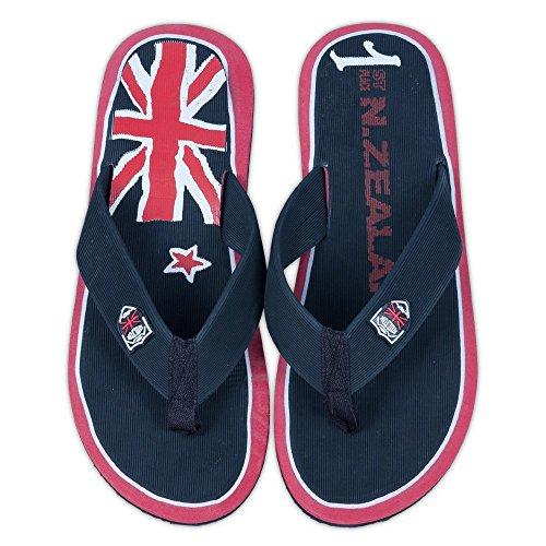 Flip Flops Herren Shilton New Zealand schwarz
