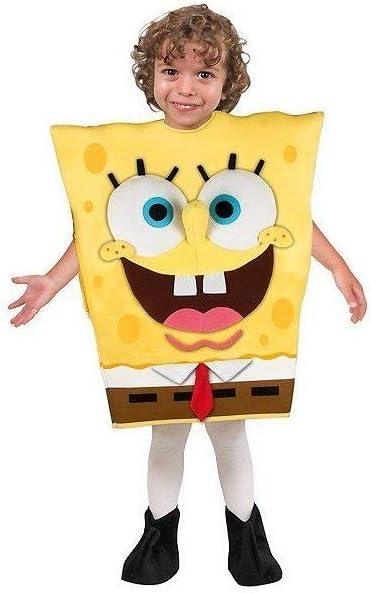 Josman Disfraz bob esponja talla 1 (3/5 años): Amazon.es: Juguetes ...