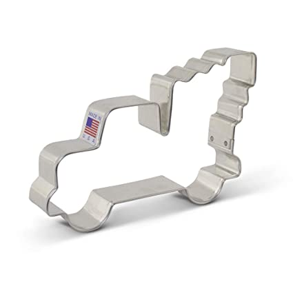 Extra Large Vintage Pickup Truck With Christmas Tree Cookie Cutter 5 Inch Ann Clark Usa Made Steel