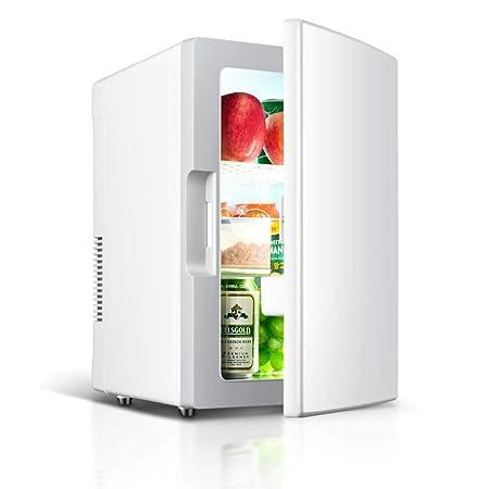 HNFYJQ Refrigerador para Autos de 18 litros, refrigerador de Doble ...