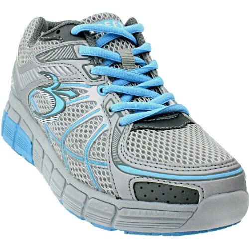 UPC 674190278435, Women's Gravity Defyer Super Walk Athletic Shoes, GREY/BLUE, 7M