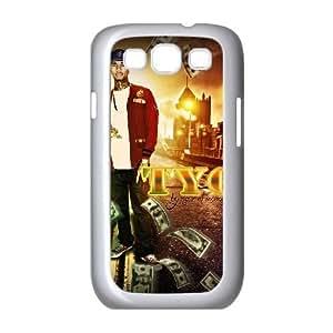 TYGA increíble para funda Samsung Galaxy S3 9300 funda del teléfono celular de cubierta blanca