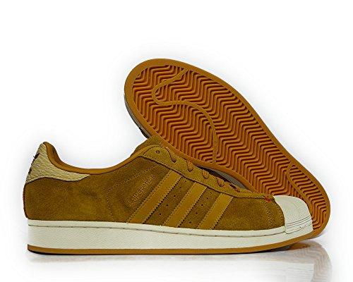 Les Hommes Adidas Superstar Entra?neur B27574 Taille Marron /