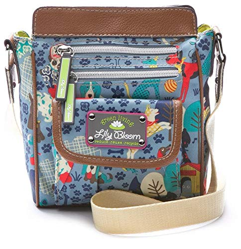 Lily Bloom Jamie Mini Crossbody Bag (Who Let The Dogs Out)