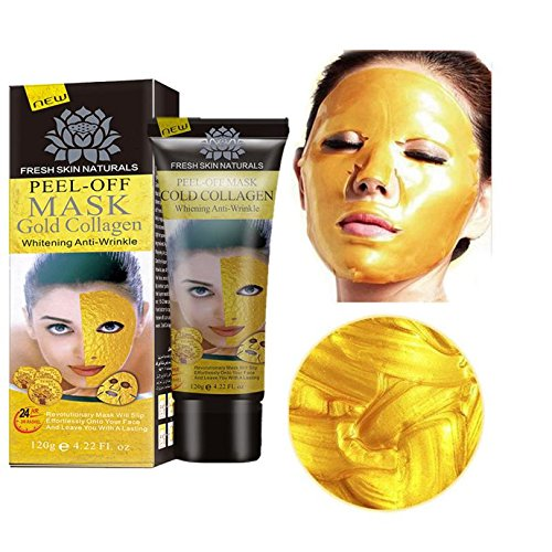 24k Gold Collagen Peel-off Facial Mask Whitening Anti-Wrinkl