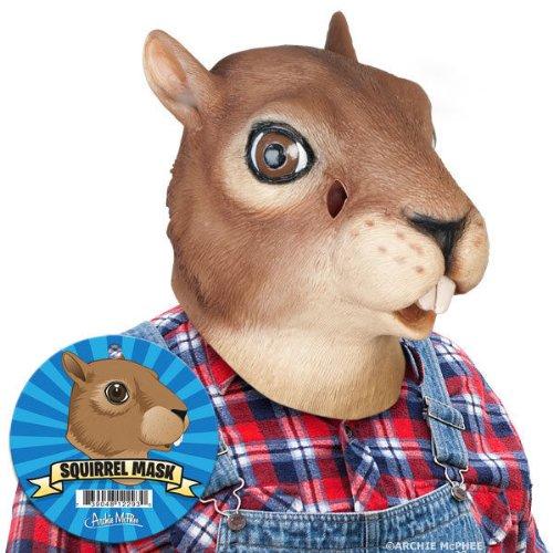 Squirrel Mask (Halloween Costumes Squirrel)