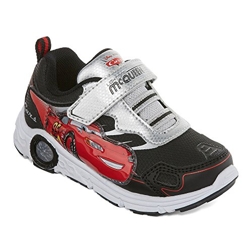 Cars 3 Boys Athletic Shoe Sneaker Lightning McQueen Light Up Shoes Toddler