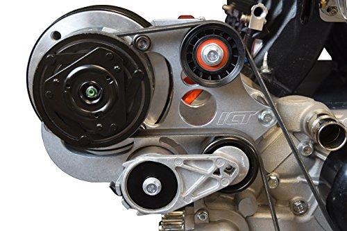 R4 Lightweight Compressor (LS Camaro R4 A/C Air Conditioner Compressor Bracket Kit LS1 Camaro LSX AC 551585X-2)