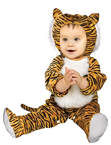 Fun World - Cuddly Tiger Infant Costume - Infant (12-24 Months) - Brown ()
