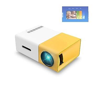 GJZhuan YG300 |Proyector Full HD 320x240 Video Cine en casa, Mini ...