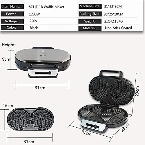 XIAMIMI Muffin Maker Multi-Function Maker Muffin Maison en Acier Inoxydable pour individuels Waffle Bols, Belgique Gaufres, Tacos, Bols de Poulet et Gaufres,