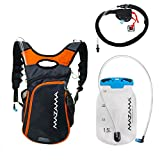 Hiking Backpack Hydration Bladder Kit – BPA Free Hydration Reservoir – Koosah Hiking Pack Mazama (Grey) Review
