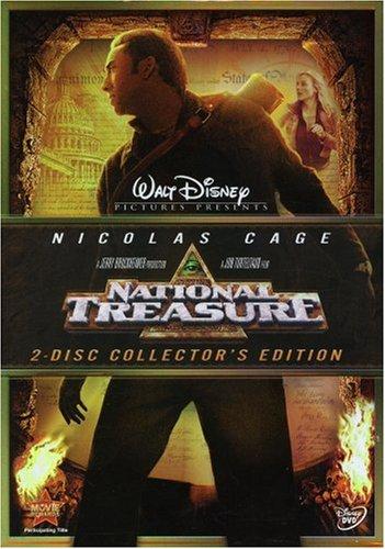 Amazon Com National Treasure Two Disc Collector S Edition Nicolas Cage Movies Tv