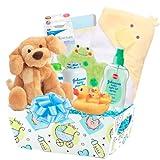 Bellisima ''Cuddly Baby'' 20 Pc Deluxe Baby Bath Gift Basket
