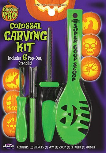 Piece Colossal Pumpkin Carving Kit