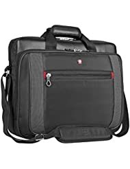 SWISS GEAR 15.6 LAPTOP BRIEF (SWA0586) - BLACK