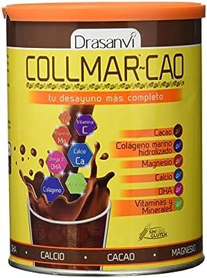 Drasanvi Collmar Cao Colágeno Marino Hidrolizado con Cacao, DHA, Magnesio y Calcio - 300 gr: Amazon.es: Salud y cuidado personal
