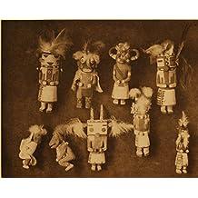 8 x 10 Old Tin Metal Signs Kachina Dolls Native American Indian Photo wall art