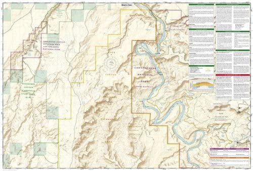 Maze District: Canyonlands National Park (National Geographic Trails on