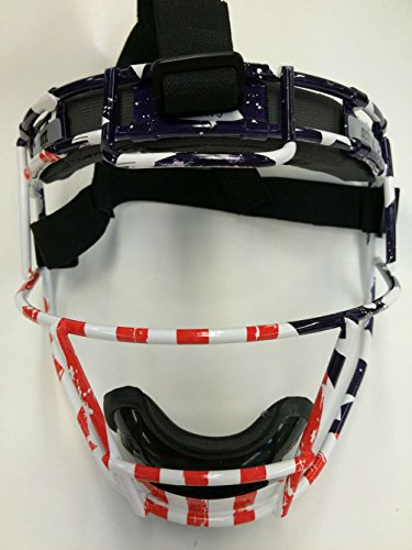 Youth Custom Schutt Stars and Stripes Infielder Face Guard by Schutt