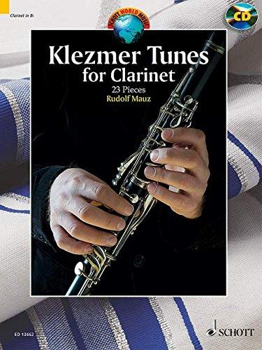 Klezmer Tunes for Clarinet: 24 Pieces