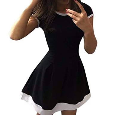 KIMODO Women Summer Casual Evening Party Cocktail Ladies Short Bodycon Dress