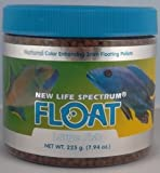 New Life Spectrum FLOAT Surface Feeder Large 3mm Floating Salt/Fresh Pet Food, 190gm