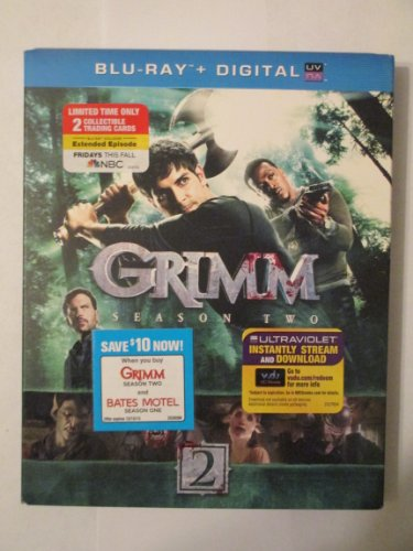 Grimm - Season Two 5 Disc Blu-Ray/Digital Copy Set with Limited 2 Collectible Trading Cards