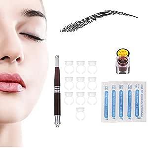 Kit de tatuaje para cejas, microblading permanente para maquillaje ...