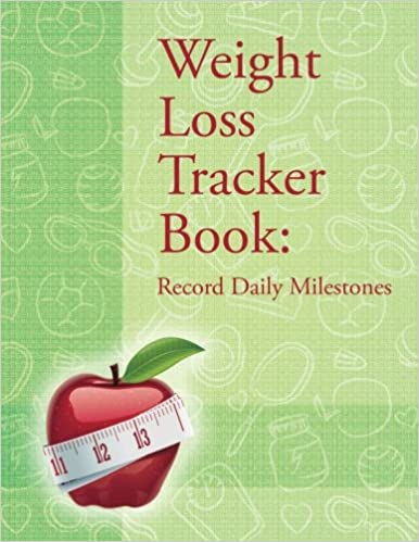 buy weight loss tracker book record daily milestones book online at