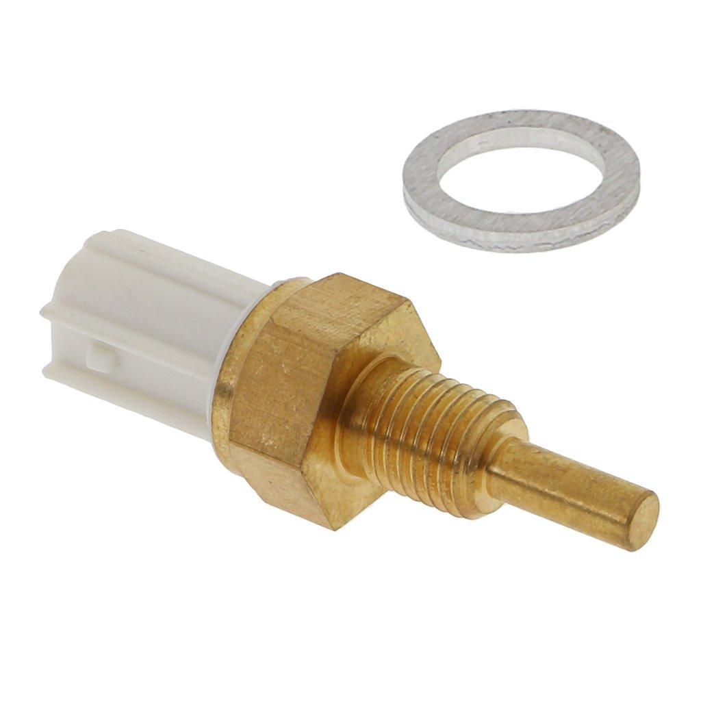 MagiDeal Car Engine Coolant Temperature Water Temp Sensor For Honda Acura Civic Fit Ridgeline Accord Odyssey 2006-2011