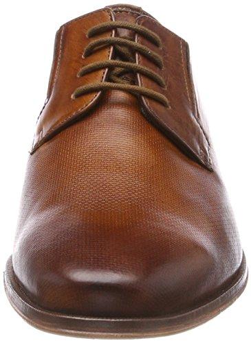 de Zapatos 311453031100 Cognac Cordones Bugatti Hombre para Derby Marrón 5EqdnxWn