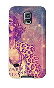 New Psychedelic Trippy Tpu Case Cover, Anti-scratch Phone Case For Galaxy S5