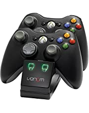 Venom Twin Charging Station Doppio Caricabatterie per Xbox 360, Con 2 x Batteria NiMH