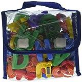 Imaginarium 72-Piece Magnetic Letters Set (Colors/Styles Vary)