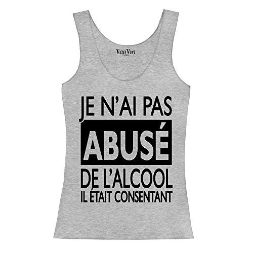 Veni Vici - Camiseta sin mangas - para mujer gris
