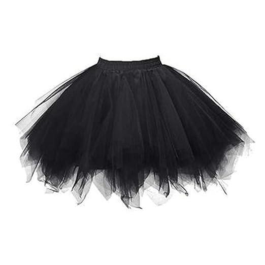 jingyuu faldas corta tul falda para mujer Mini corto vestido tutu ...
