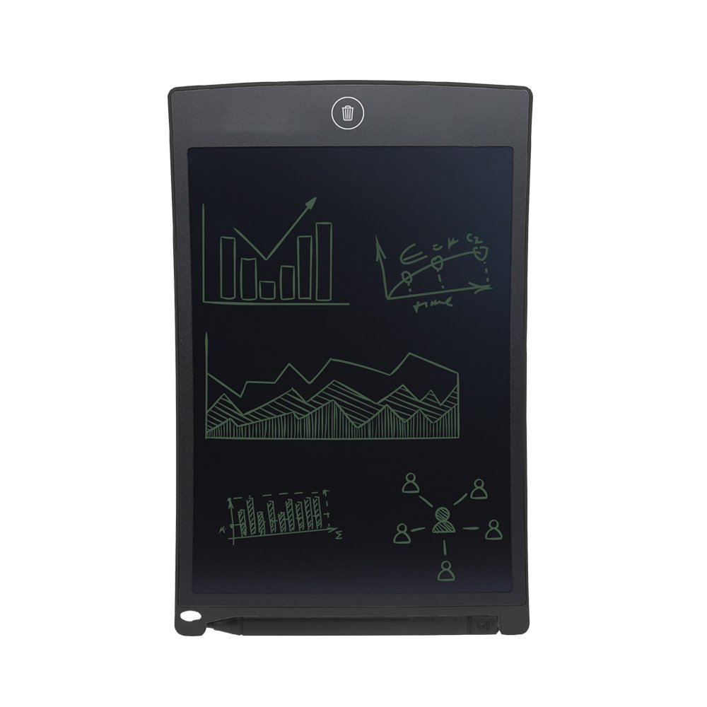 8.5 Inch LCD Writing Tablet,Writing Graphics, Drawing & Painting Board -Can Be Used As Office Whiteboard Bulletin Board /Ourdoors Sketch And Gifts For Kids (Black) (8.5-1) by Allnice (Image #1)