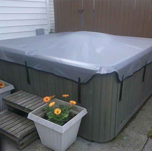 Rectangular Hot Tubs (Replacement Hot Tub Covers - Soft Spa Cover (Avail in Grey only - 4 sizes available) (Vinyl, 80