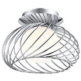 Eglo 91166A Thebe Wall or Ceiling Light, Chrome