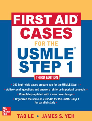 First Aid Cases for the USMLE Step 1, Third Edition (First Aid USMLE) Pdf